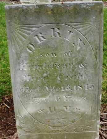 CRABB, ORRIN - Madison County, Ohio | ORRIN CRABB - Ohio Gravestone Photos