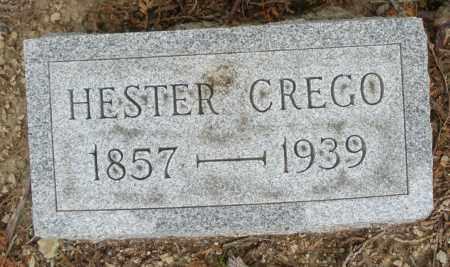 CREGO, HESTER - Madison County, Ohio | HESTER CREGO - Ohio Gravestone Photos