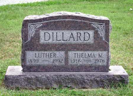 DILLARD, THELMA - Madison County, Ohio   THELMA DILLARD - Ohio Gravestone Photos