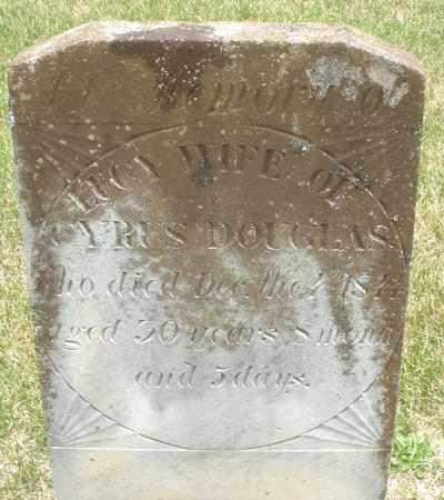 DOUGLAS, LUCY - Madison County, Ohio | LUCY DOUGLAS - Ohio Gravestone Photos