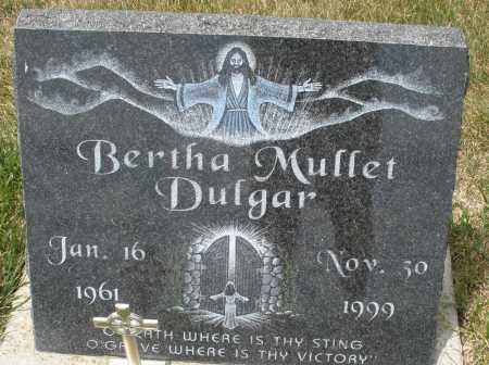 DULGAR, BERTHA MUFFET - Madison County, Ohio | BERTHA MUFFET DULGAR - Ohio Gravestone Photos