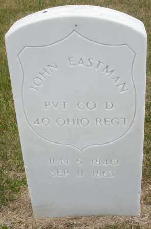 EASTMAN, JOHN - Madison County, Ohio | JOHN EASTMAN - Ohio Gravestone Photos