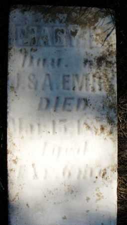 EMERY, MARY E. - Madison County, Ohio | MARY E. EMERY - Ohio Gravestone Photos