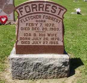 FORREST, FLETCHER - Madison County, Ohio | FLETCHER FORREST - Ohio Gravestone Photos