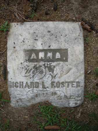 FOSTER, ANNA - Madison County, Ohio | ANNA FOSTER - Ohio Gravestone Photos