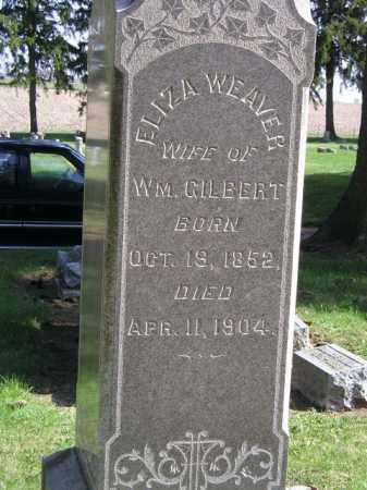 WEAVER GILBERT, ELIZA G. - Madison County, Ohio   ELIZA G. WEAVER GILBERT - Ohio Gravestone Photos