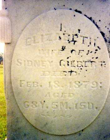 CLARK GILBERT, ELIZABETH - Madison County, Ohio | ELIZABETH CLARK GILBERT - Ohio Gravestone Photos