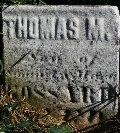 GOSSARD, THOMAS M. - Madison County, Ohio | THOMAS M. GOSSARD - Ohio Gravestone Photos
