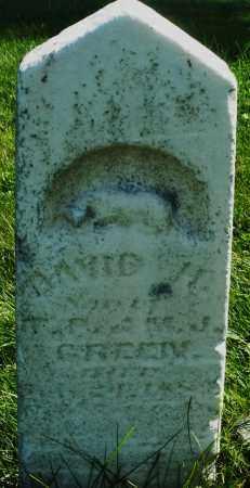GREEN, DAVID H. - Madison County, Ohio | DAVID H. GREEN - Ohio Gravestone Photos