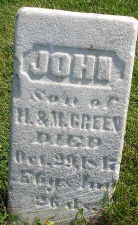 GREEN, JOHN - Madison County, Ohio   JOHN GREEN - Ohio Gravestone Photos