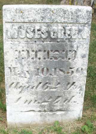 GREEN, MOSES - Madison County, Ohio | MOSES GREEN - Ohio Gravestone Photos