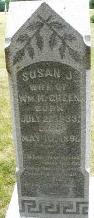 GREEN, SUSAN J. - Madison County, Ohio | SUSAN J. GREEN - Ohio Gravestone Photos