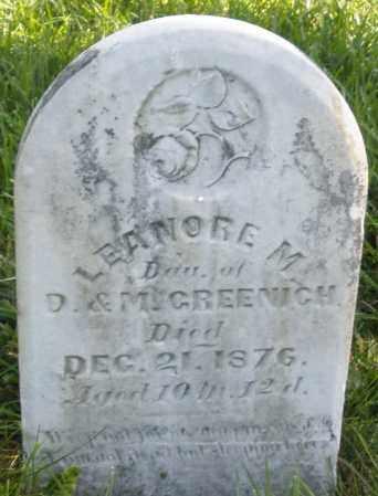 GREENICH, LEANORE M. - Madison County, Ohio | LEANORE M. GREENICH - Ohio Gravestone Photos