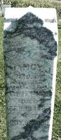 GRIFFITH, NANCY J. - Madison County, Ohio   NANCY J. GRIFFITH - Ohio Gravestone Photos