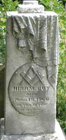 GUY, HIRAM - Madison County, Ohio   HIRAM GUY - Ohio Gravestone Photos