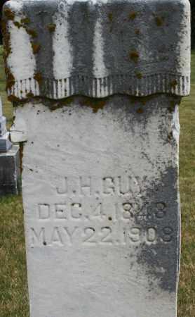 GUY, J. H. - Madison County, Ohio | J. H. GUY - Ohio Gravestone Photos