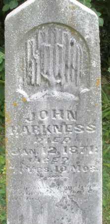 HARKNESS, JOHN - Madison County, Ohio | JOHN HARKNESS - Ohio Gravestone Photos