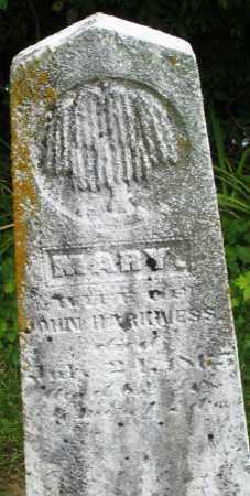 HARKNESS, MARY - Madison County, Ohio   MARY HARKNESS - Ohio Gravestone Photos