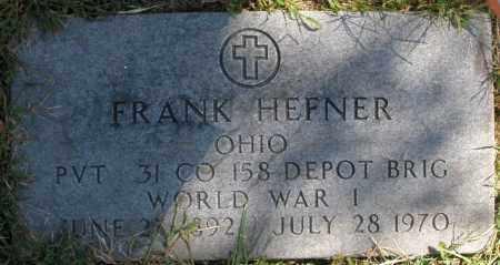 HEFNER, FRANK - Madison County, Ohio | FRANK HEFNER - Ohio Gravestone Photos