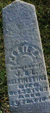 HELFINSTINE, JOSIE B. - Madison County, Ohio | JOSIE B. HELFINSTINE - Ohio Gravestone Photos