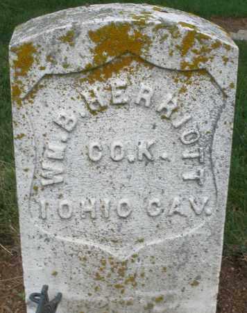 HERRIOTT, WILLIAM B. - Madison County, Ohio | WILLIAM B. HERRIOTT - Ohio Gravestone Photos