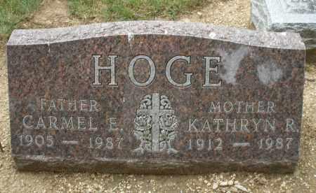 HOGE, KATHRYN R. - Madison County, Ohio | KATHRYN R. HOGE - Ohio Gravestone Photos