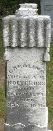 HOLYCROSS, CAROLINE - Madison County, Ohio   CAROLINE HOLYCROSS - Ohio Gravestone Photos