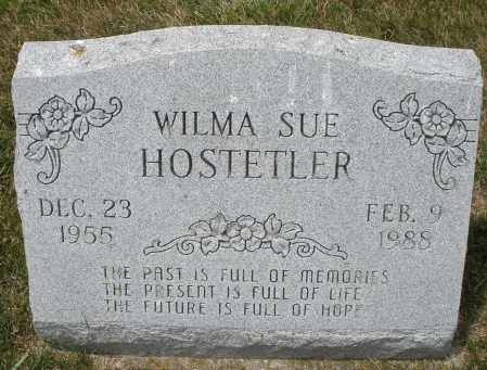 HOSTETLER, WILMA SUE - Madison County, Ohio | WILMA SUE HOSTETLER - Ohio Gravestone Photos