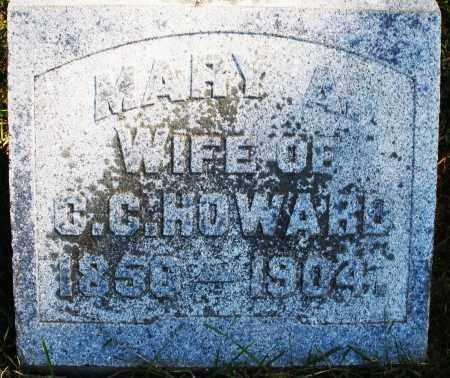 HOWARD, MARY A. - Madison County, Ohio   MARY A. HOWARD - Ohio Gravestone Photos