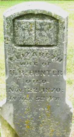 HUNTER, ELIZABETH - Madison County, Ohio | ELIZABETH HUNTER - Ohio Gravestone Photos