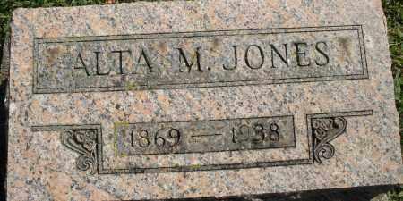 JONES, ALTA M. - Madison County, Ohio | ALTA M. JONES - Ohio Gravestone Photos