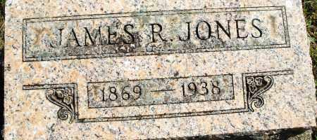 JONES, JAMES R. - Madison County, Ohio   JAMES R. JONES - Ohio Gravestone Photos