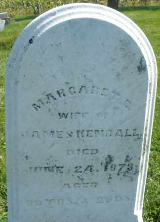 KENDALL, MARGARET E. - Madison County, Ohio | MARGARET E. KENDALL - Ohio Gravestone Photos