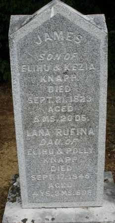 KNAPP, LANA RUFINA - Madison County, Ohio | LANA RUFINA KNAPP - Ohio Gravestone Photos