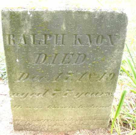 KNOX, RALPH - Madison County, Ohio   RALPH KNOX - Ohio Gravestone Photos