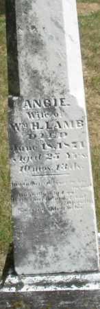 LAMB, ANGIE - Madison County, Ohio | ANGIE LAMB - Ohio Gravestone Photos