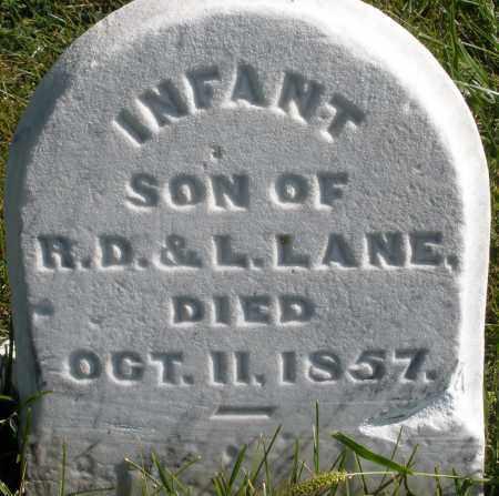 LANE, INFANT SON - Madison County, Ohio | INFANT SON LANE - Ohio Gravestone Photos