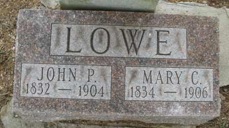 LOWE, MARY C. - Madison County, Ohio | MARY C. LOWE - Ohio Gravestone Photos