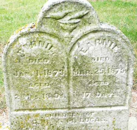 LUCAS, BURNIE - Madison County, Ohio | BURNIE LUCAS - Ohio Gravestone Photos