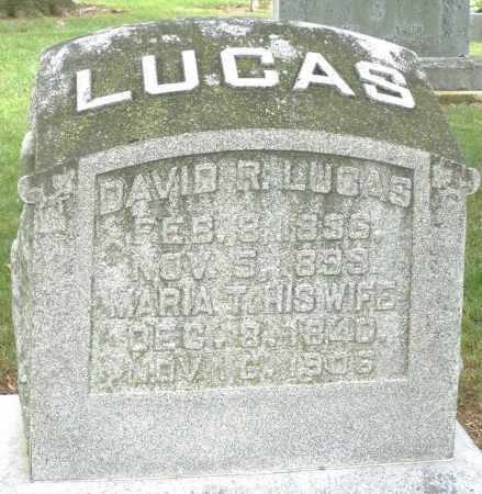 LUCAS, MARIA T. - Madison County, Ohio | MARIA T. LUCAS - Ohio Gravestone Photos