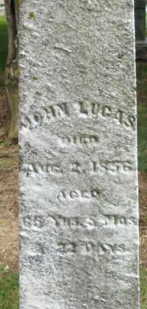 LUCAS, JOHN - Madison County, Ohio   JOHN LUCAS - Ohio Gravestone Photos