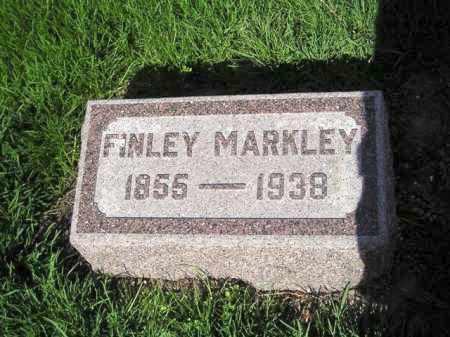 MARKLEY, FINLEY JONATHAN - Madison County, Ohio | FINLEY JONATHAN MARKLEY - Ohio Gravestone Photos