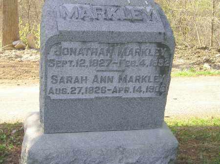 MARKLEY, SARAH ANN - Madison County, Ohio   SARAH ANN MARKLEY - Ohio Gravestone Photos