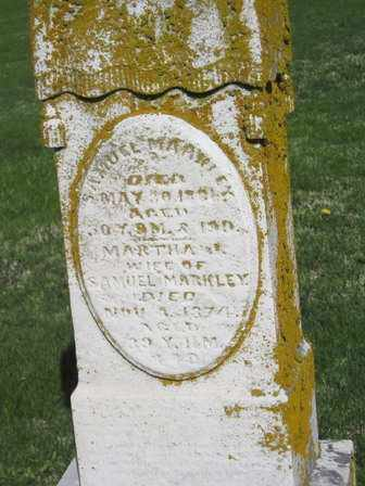 MARKLEY, SAMUEL - Madison County, Ohio   SAMUEL MARKLEY - Ohio Gravestone Photos