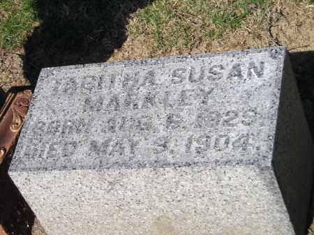 MARKLEY, TABITHA SUSAN - Madison County, Ohio | TABITHA SUSAN MARKLEY - Ohio Gravestone Photos