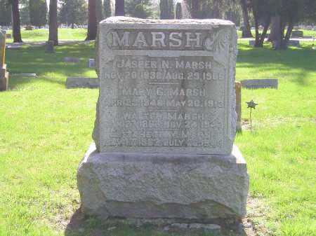 MARSH, JASPER NEWTON - Madison County, Ohio | JASPER NEWTON MARSH - Ohio Gravestone Photos