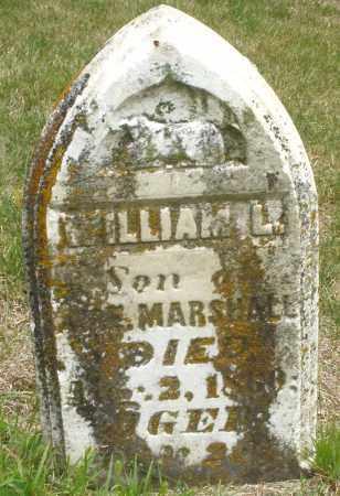 MARSHALL, WILLIAM L. - Madison County, Ohio | WILLIAM L. MARSHALL - Ohio Gravestone Photos