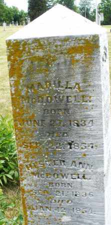 MCDOWELL, MARILLA - Madison County, Ohio | MARILLA MCDOWELL - Ohio Gravestone Photos