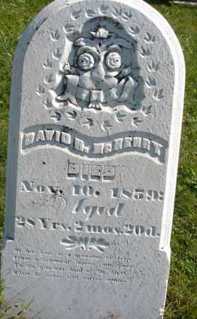 MCHENRY, DAVID H. - Madison County, Ohio   DAVID H. MCHENRY - Ohio Gravestone Photos