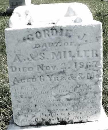 MILLER, GORDIE J. - Madison County, Ohio | GORDIE J. MILLER - Ohio Gravestone Photos